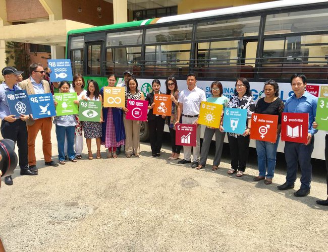 Yeti Airlines and UN Teams for SDG