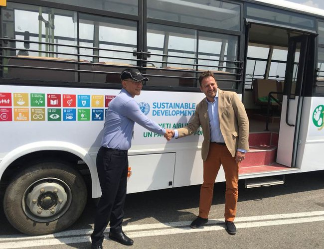 UN Team and Yeti Airlines Partnership for promotion of SDGs