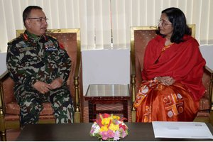 Ambassador of Bangladesh Calls on COAS Chhetri