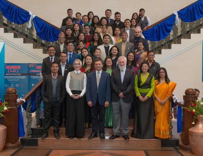 Australian Ambassador To Nepal Organize A Program To Bid Farewell To