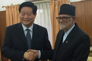 CHINESE DELEGATION IN NEPAL: Friendship Matter