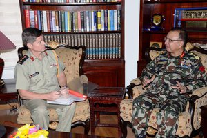 Canadian Military Attaché calls on COAS General Chhettri