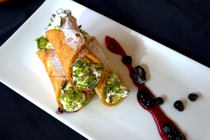 Cannoli, roasted pista topping with snow sugar.jpg