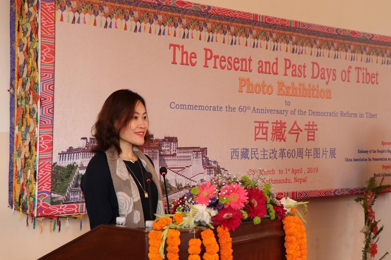 Chinese ambassador at Tibet exhibition.jpg