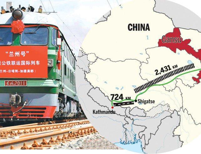 Image result for Nepal rail