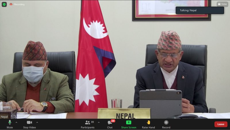 Foreign minister Gyawali and Foreign secretary.jpg