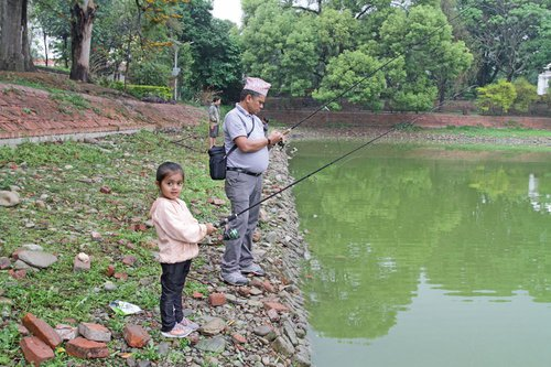 From Young to Old Enjoyed Learning Fishing Skills - low res.jpg