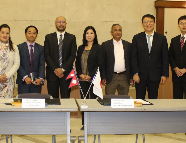 Japan Provides Assistance To Launch DRR Project In Chitwan