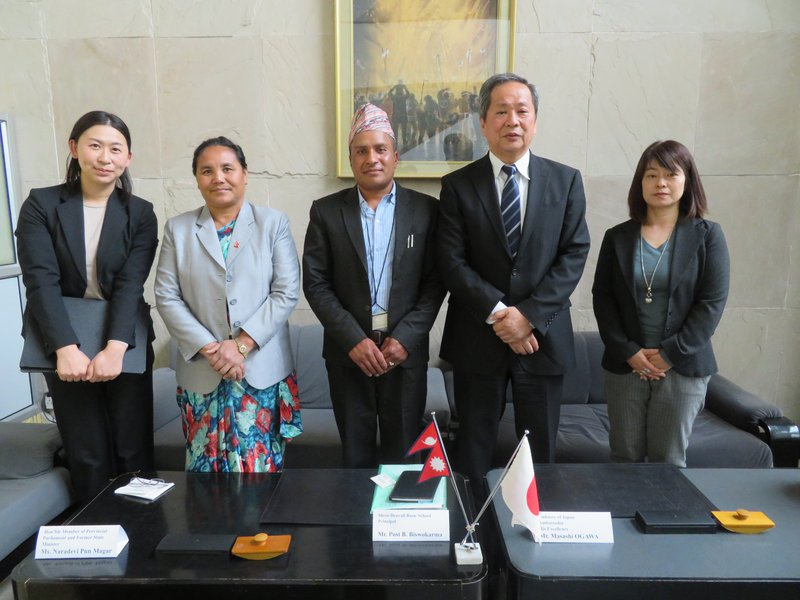 Japan's grant for Myagdi school 2.jpg