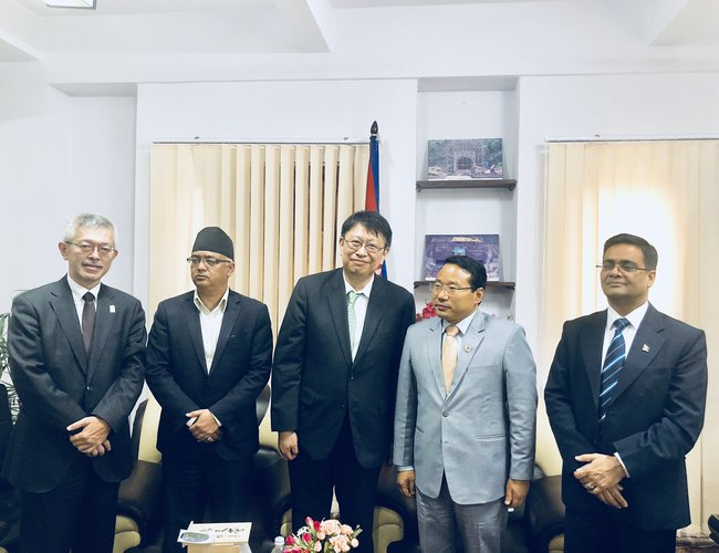 Japansese Ambassador with Minister Pun and officials.jpeg