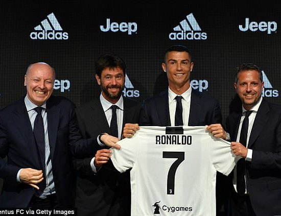 51ffb2c83 Cristiano Ronaldo Unveiled  New €100m Juventus Signing Wanted To Leave Real  Madrid For  Big Club