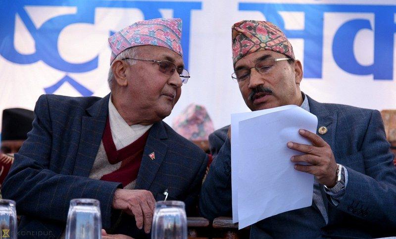 Kamal Thapa and Oli.jpg