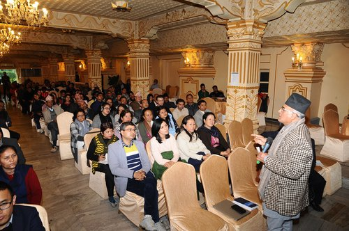 Language in Education Symposium_LavaDevAwasti_addressing the audience.jpg