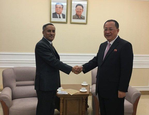 Nepali Ambassador Presented Credential To North Korean