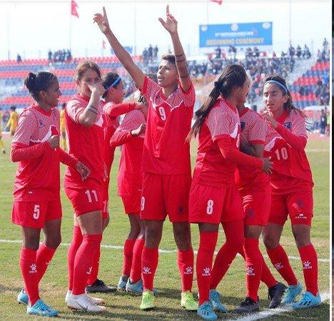 Nepali Men And Women Win 13th SAG Football   New Spotlight Magazine