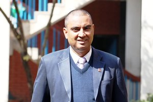 """Nepal Is Serious About Climate Change"" Naresh Sharma"