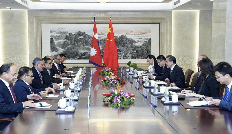 Nepal foreing minsiter in China.jpg