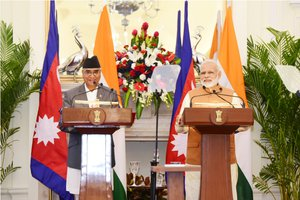 PM Deuba and PM Modi addressing joint press confernce.jpg