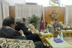 PM OLI'S INDIA VISITGoodwill First