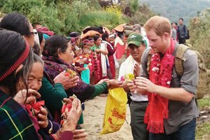 PRINCE HARRY'S VISITHealing Touch