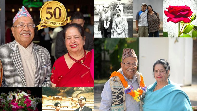 Pande celebrating 50 year of Marriage Anniversary.jpg