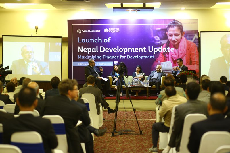 Panel Discussion on 'Maximizing Finance in Development'.JPG