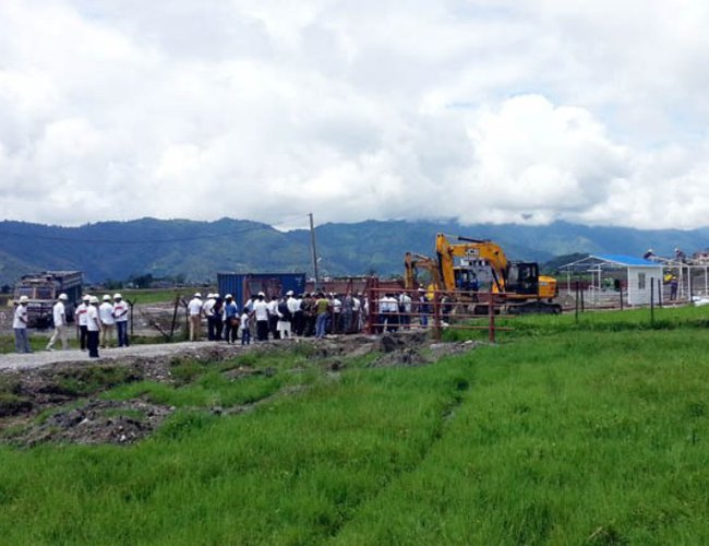 Pokhara-Airport construction site.jpg