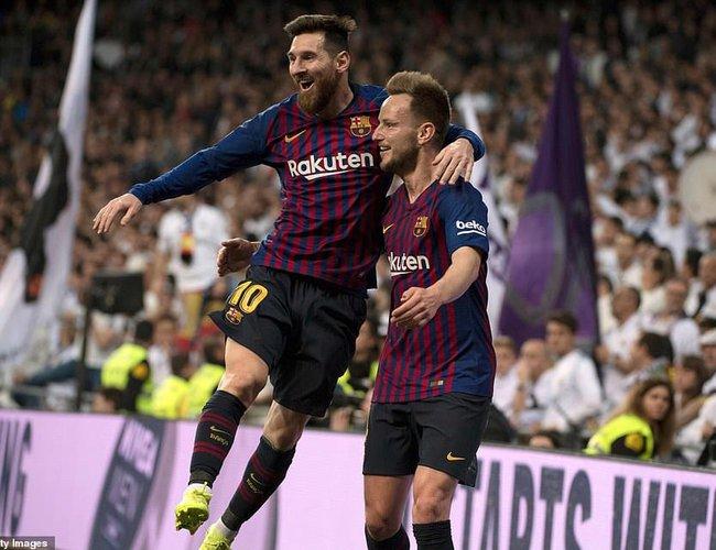 Barcelona Beat Real Madrid 1-0  db1ed245851