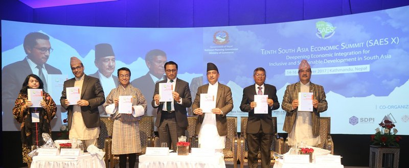 South Asia Economic Summit Book release.jpg