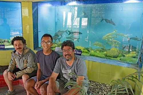 Team Behind New Aquarium Exhibit of Nepali Golden Mahseer - low res.jpg