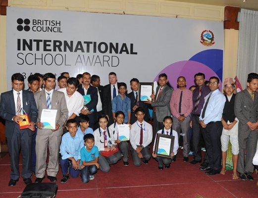 Twelve Nepali Schools Receives British Council's