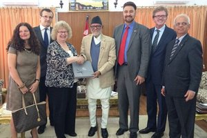 VISIT OF EUROPEAN PARLIAMENTARIANS: Good Gesture
