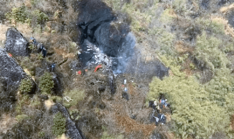 helicopter crashed in Taplejung.png