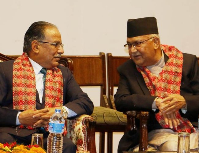 PM Oli and Prachanda To Visit Singapore And Dubai | New Spotlight ...